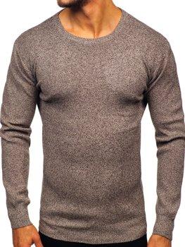 Чоловічий светр коричневий Bolf 8529