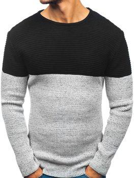 Чоловічий светр чорний Bolf 164