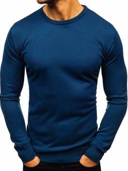 Чоловічий светр індиго Bolf 2300