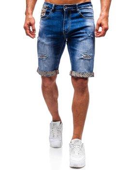 Чоловічі джинсові шорти сині Bolf T399