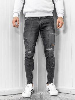 Чоловічі джинсові штани чорні Bolf 1085