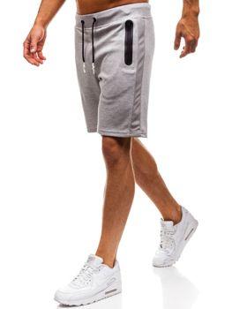 Чоловічі спортивні шорти сірі Bolf A9602