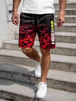 Чоловічі спортивні шорти, червоні Bolf KK208