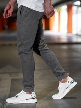 Чоловічі спортивні штани антрацитові Bolf JX8978
