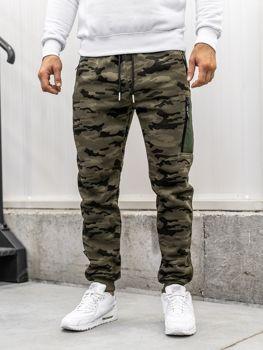 Чоловічі спортивні штани багі камуфляж-мультиколір Bolf 3769E