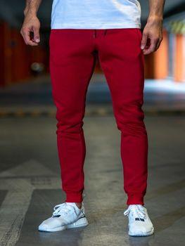 Чоловічі спортивні штани бордові Bolf XW01