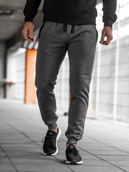 Чоловічі спортивні штани джогери графітові Bolf AK13-1