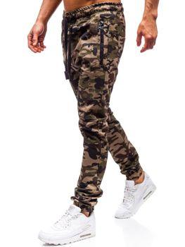 Чоловічі штани джогери бежеві Bolf 0803