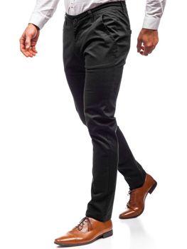 Чоловічі штани чинос чорні Bolf 2901