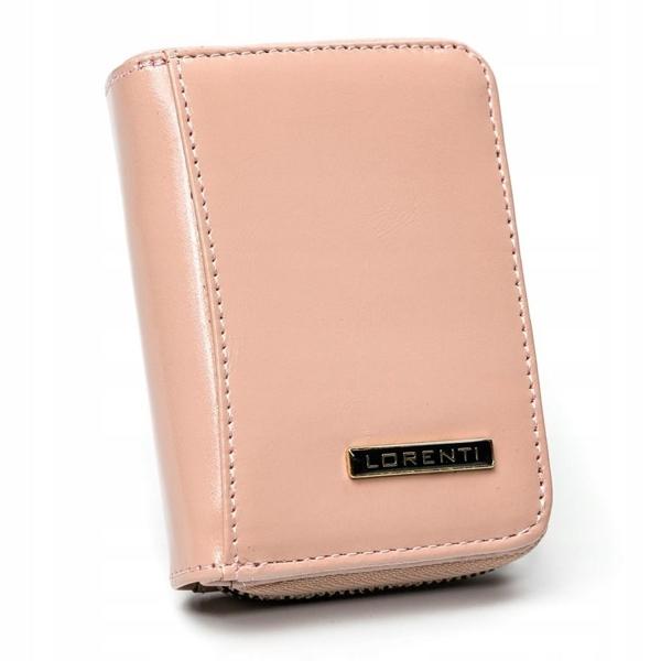 Жіночий шкіряний гаманець лосось 2863