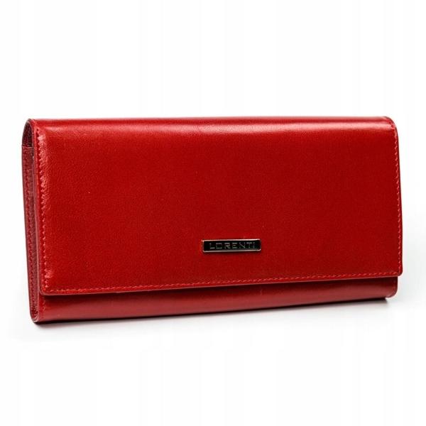 Жіночий шкіряний гаманець червоний 2902