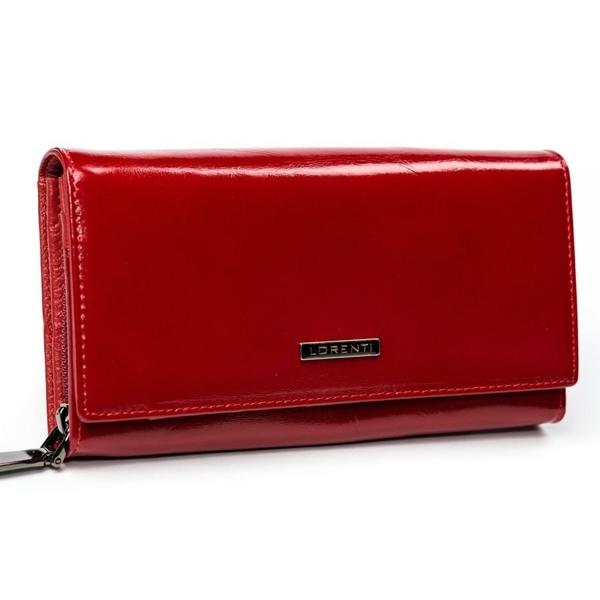 Жіночий шкіряний гаманець червоний 2903