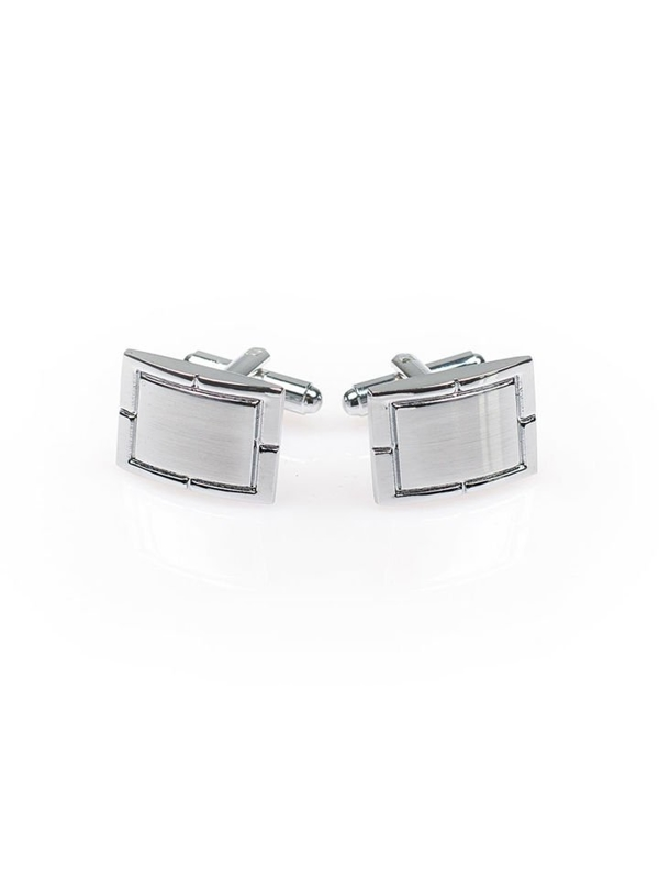 Запонки кольору срібло Bolf S025-А