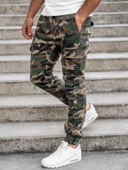 Хакі камуфляж чоловічі штани джоггери-карго Bolf RB8216XT