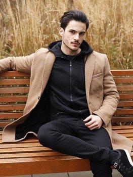 Чоловіча зимова куртка кемел Bolf 1047B