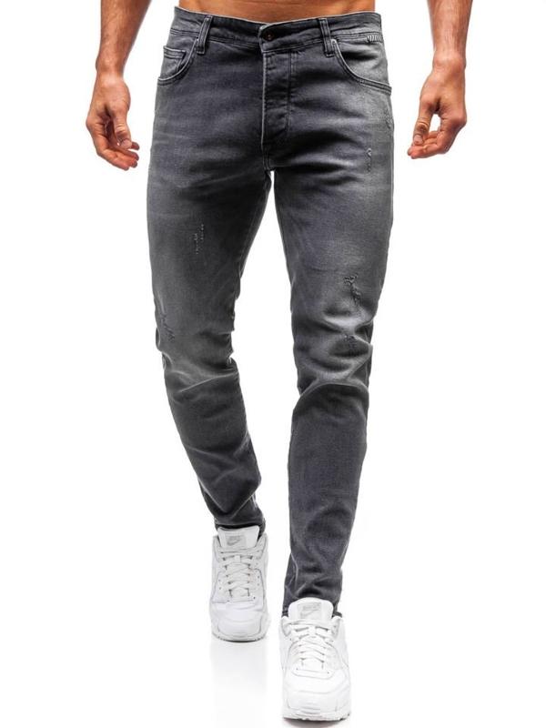 Чоловічі джинсові штани графітові Bolf 7160