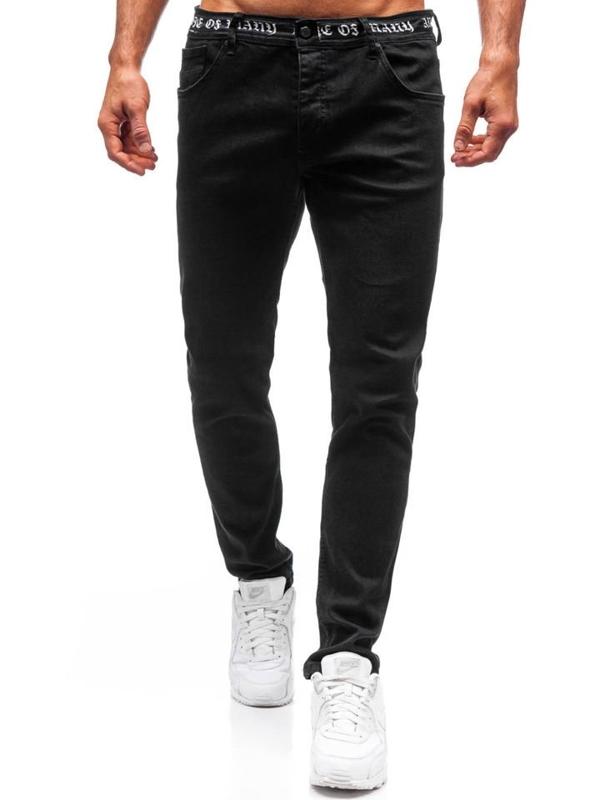 Чоловічі джинсові штани чорні Bolf 3036
