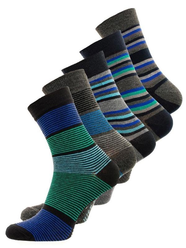 Чоловічі шкарпетки мультиколор Bolf X10026-5P 5 PACK