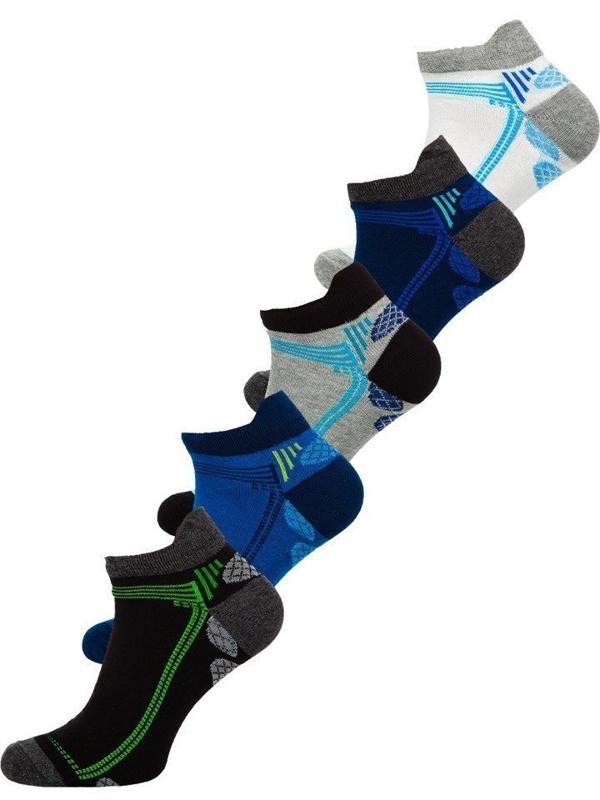 Чоловічі шкарпетки мультиколор Bolf X10054-5P 5 шт.