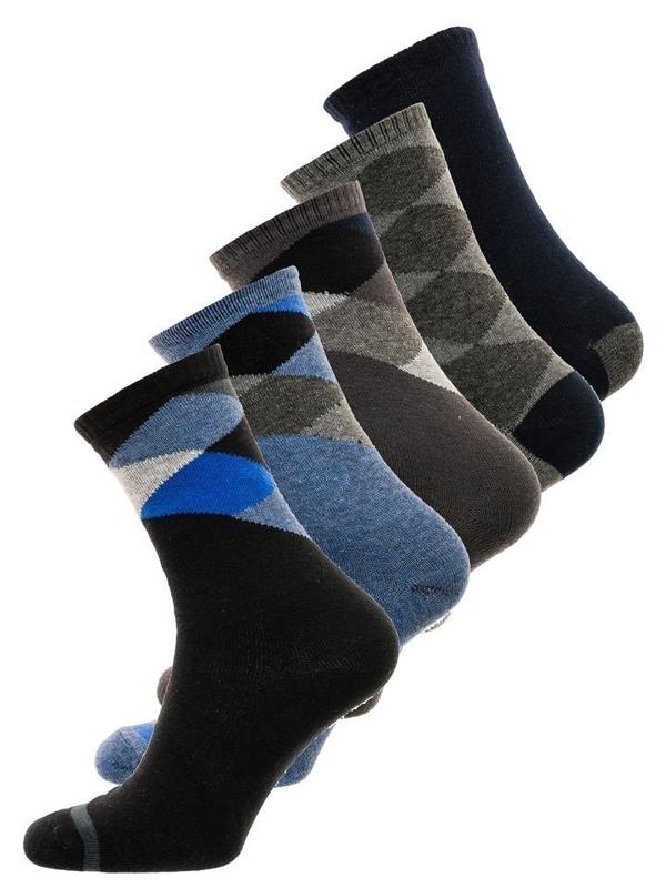 Чоловічі шкарпетки мультиколор Bolf X10074-5P 5 PACK