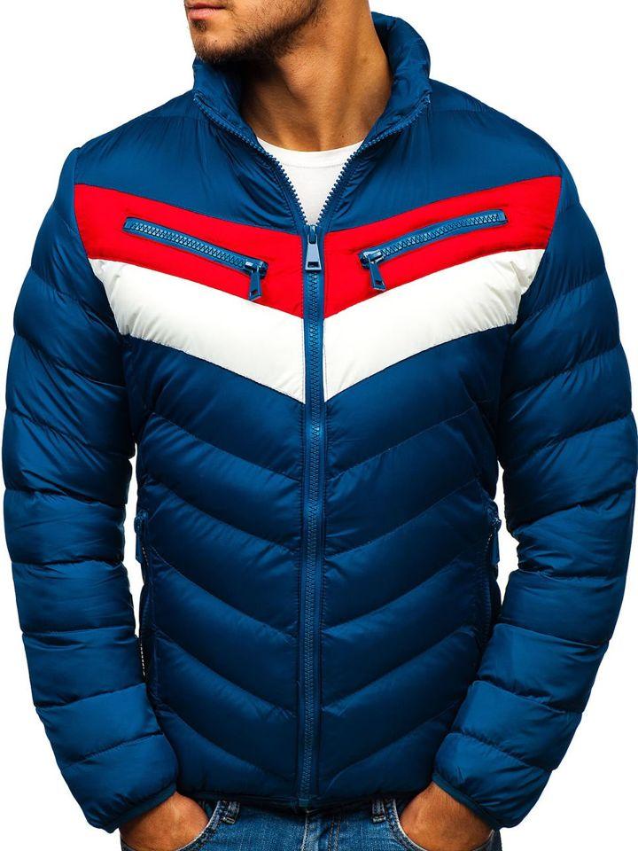 ... Чоловіча зимова куртка синя Bolf A117 ... 418a2dbcf3ab7