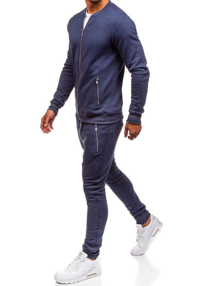 76ab173f47c806 Чоловічий спортивний костюм темно-синій Bolf 43S ТЕМНО-СИНІЙ