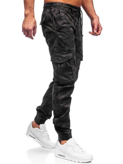 Графітні чоловічі штани джоггери карго Bolf CT6026S0