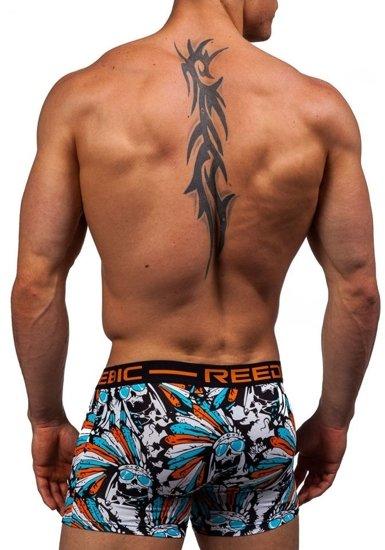 Помаранчеві чоловічі труси-боксери Bolf X203