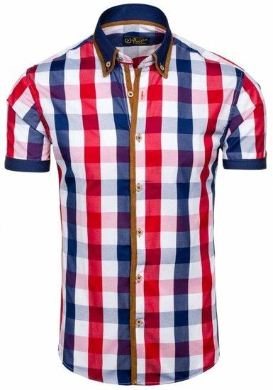 Сорочка чоловіча BOLF 5507-1 червона