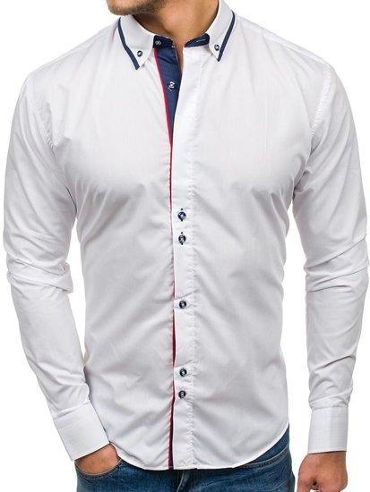 Сорочка чоловіча BOLF 6857 біла