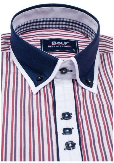 Сорочка чоловіча BOLF 6884 червона