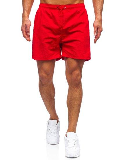 Червоні чоловічі пляжні шорти Bolf YW07003