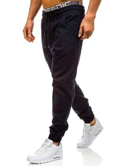 Чоловічі штани багі темно-сині Bolf 0399