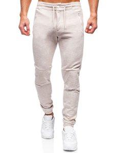 Бежеві чоловічі спортивні штани Bolf 4966