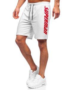 Білі чоловічі спортивні шорти Bolf KS2595