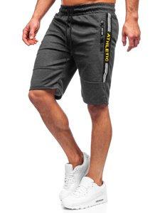 Графітові чоловічі спортивні шорти Bolf JX211