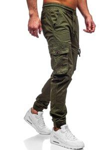 Зелені чоловічі штани джоггери карго Bolf CT6702S0