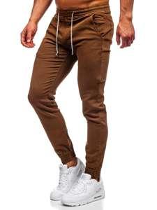 Коричневі чоловічі штани джоггери Bolf CT8808