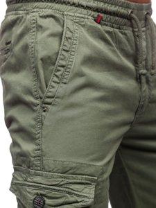 Світло-зелені чоловічі штани джоггери карго Bolf CT6706S0