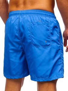 Сині чоловічі пляжні шорти Bolf YW07002