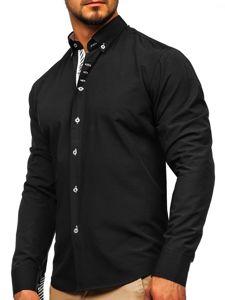 Сорочка чоловіча BOLF 5796 чорна