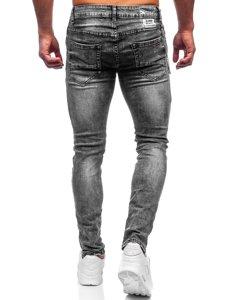 Сірі чоловічі джинси slim fit Bolf 61005S0
