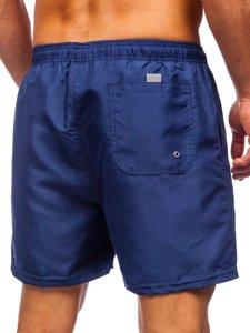 Темно-сині чоловічі пляжні шорти Bolf YW02001
