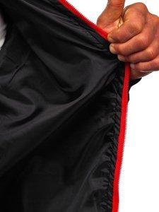 Чорна чоловіча демісезонна куртка бомбер Bolf M10292