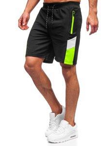 Чорні чоловічі спортивні шорти Bolf KS2605