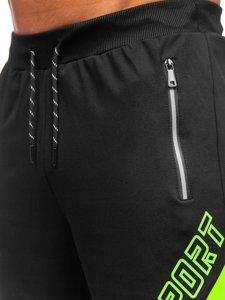 Чорні чоловічі спортивні шорти Bolf KS2606